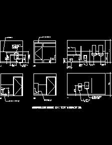 Bathroom Stalls Cad ada requirement sample drawings