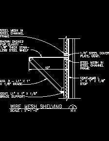 Interior Partition Sample Drawings