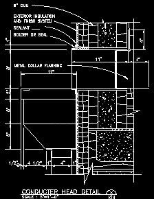 Roof Covering Details Sample Drawings