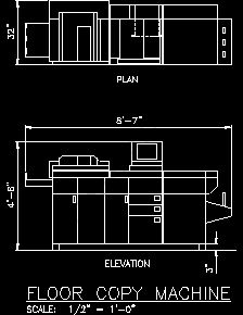 Communication equipment sample drawings for Copy cad