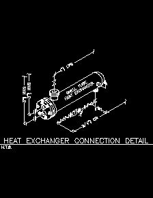 Heat Transfer on mechanical piping schematic symbols