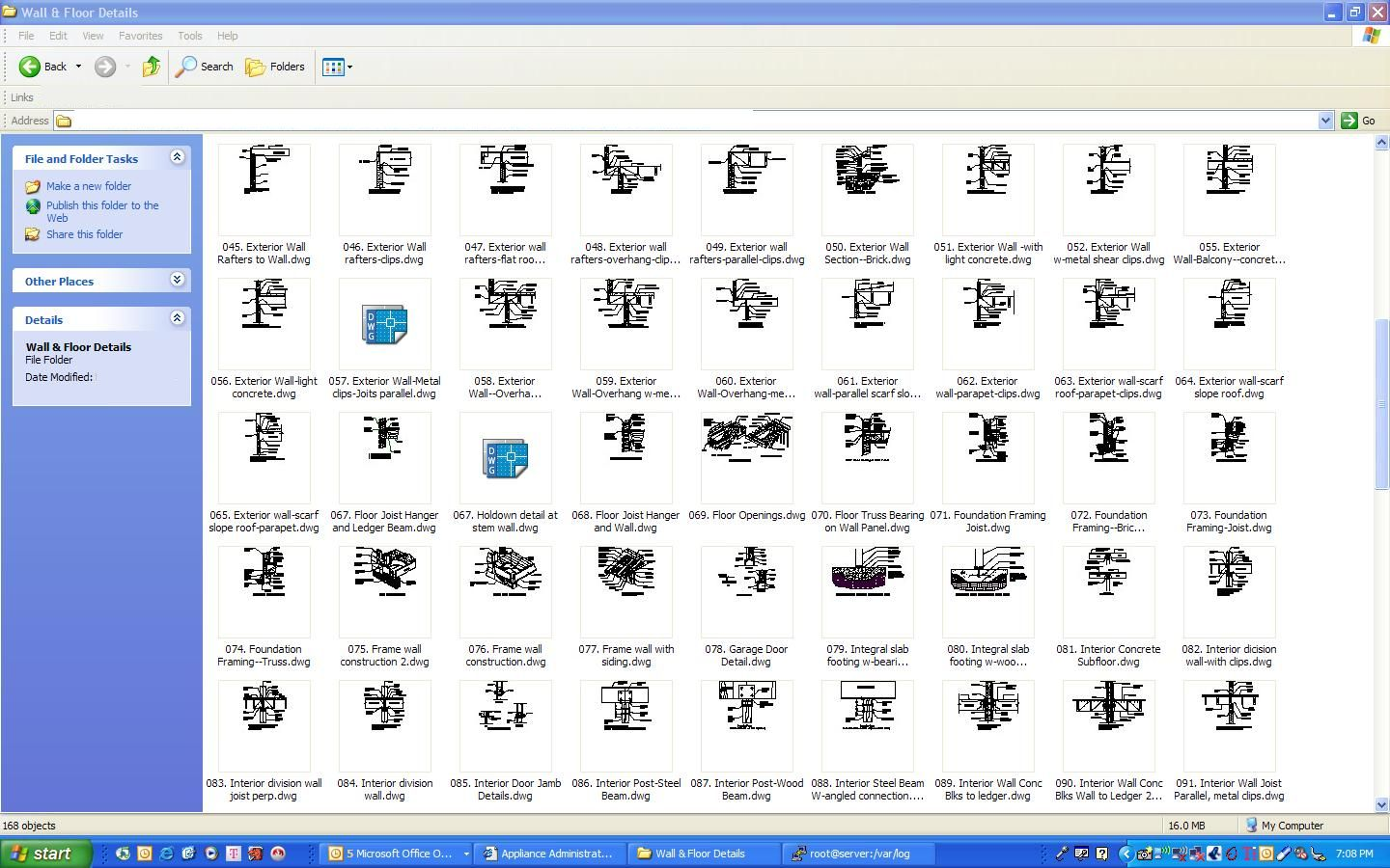AutoCAD, Construction Details, Drawing Details Library